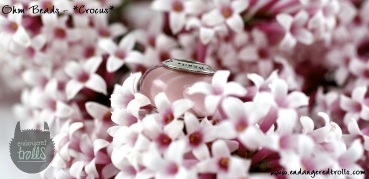 Ohm Beads Limited Edition Crocus (Spring Flowers 2013)