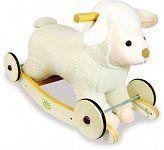 Owieczka na biegunach i kółkach, Vilac - Buy4Kids - drewniane zabawki