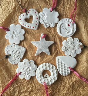 Tutorial: decoraciones navideñas con pasta de modelar casera – Sule Kemanci