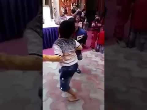 Child funny dance video on an marriage event 2018