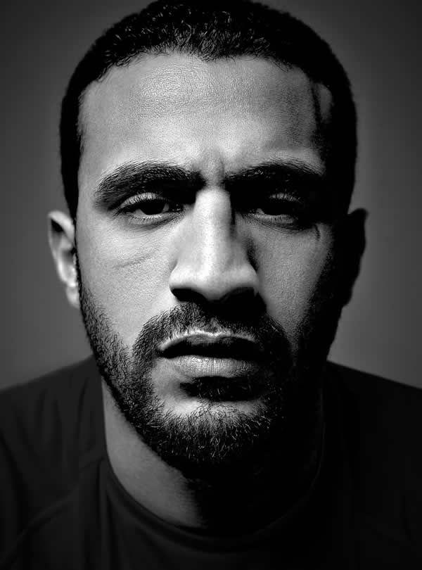 Badr Hari, super-heavyweight Moroccan kickboxer.