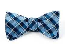 Bow Ties - ENSEMBLE PLAID - LIGHT BLUE