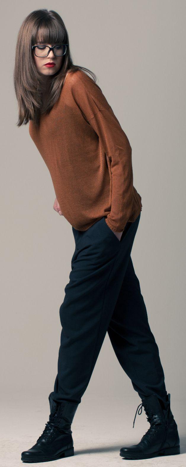 Weiteres - Bequeme Hose mit tiefem Schritt - ein Designerstück von anyonion bei DaWanda