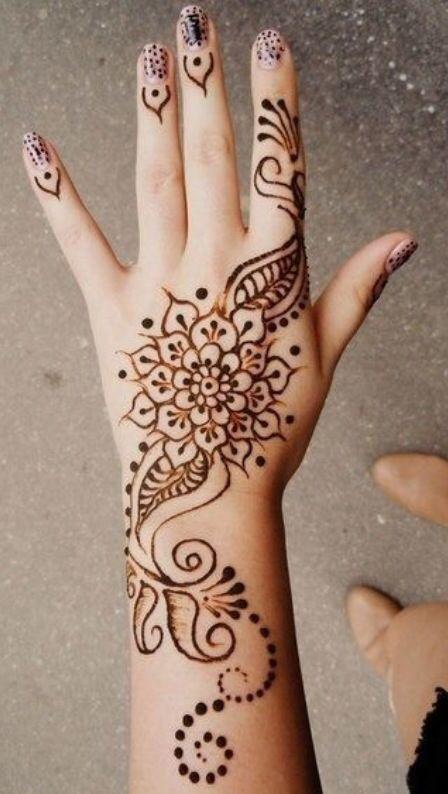 32 mejores im genes sobre tatuajes mehndi en pinterest for Henna para manos