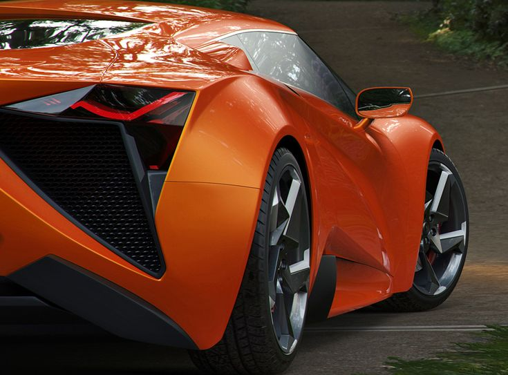 Permanent Link to Vensepto Concept Car by Steel Drake