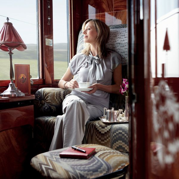 A rite of passage - a trip on the Venice Simplon Orient Express.
