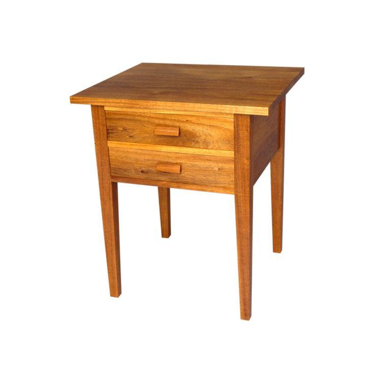 Tasmanian Blackwood Bedside Table by Anton Gerner - bespoke contemporary furniture melbourne