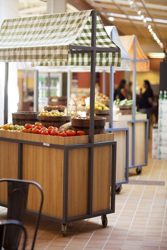 Restaurante e Empório EAT. a:m studio de arquitetura. ?, Brasil. 2012.