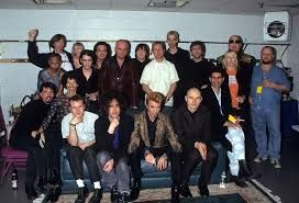 Image result for david bowie photographed with other rock stars