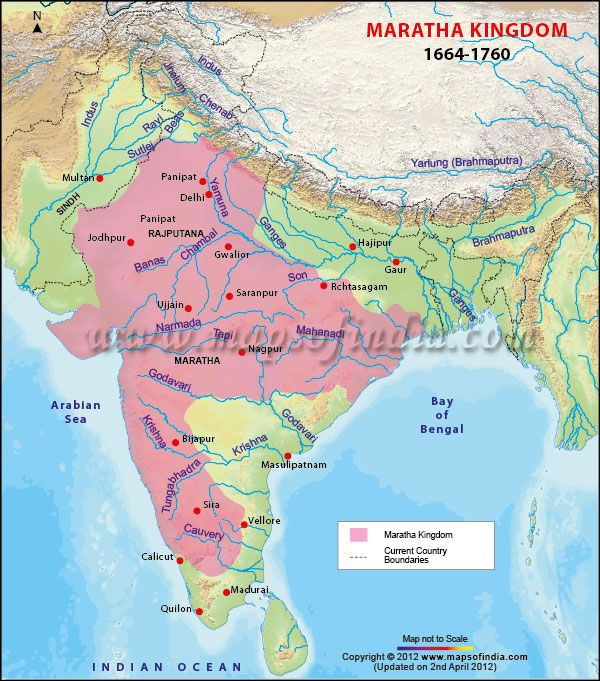 22 best history maps of india images on pinterest historical maps map highlights the maratha empire with major cities and current country boundaries the maratha empire india patternhistorical gumiabroncs Gallery