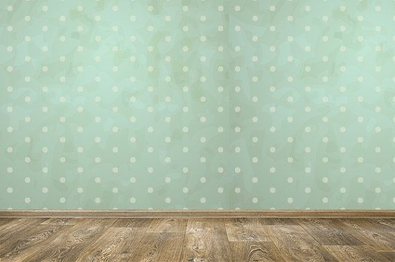 wallskin removable wallpaper vintage dots peel stick