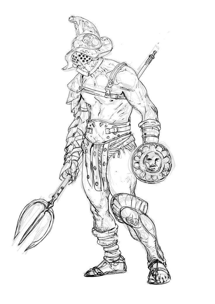 Character Design Challenge Gladiator : O g