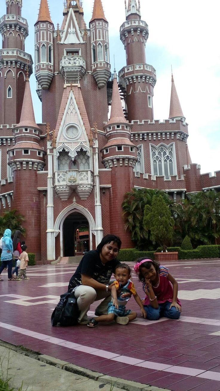 With my children