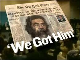 Image result for u.s. forces capture dictator saddam hussein