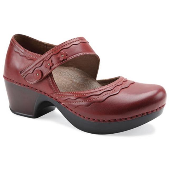 Dansko Harlow Red Burnished Full Grain My Nursing shoes