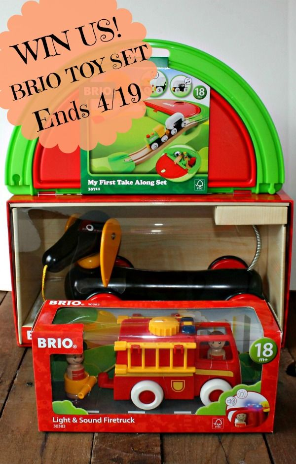 BRIO Giveaway Sponsored by BRIO Organized by CELEBRATE WOMAN TODAY What were your favorite toys when you were little? I always loved those sets with animals and cars that you could make up stories with for hours. Toys are an integral part of growing up....
