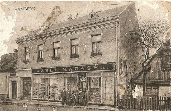 Vamberk-Potštejnská ulice, pod Hotelem Krajka