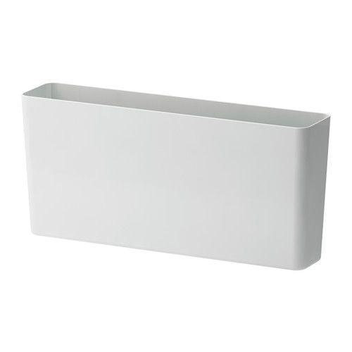 $12 VARIERA Storage box IKEA  KITCHEN: plastic lids, cutting boards; in bags for upright organization