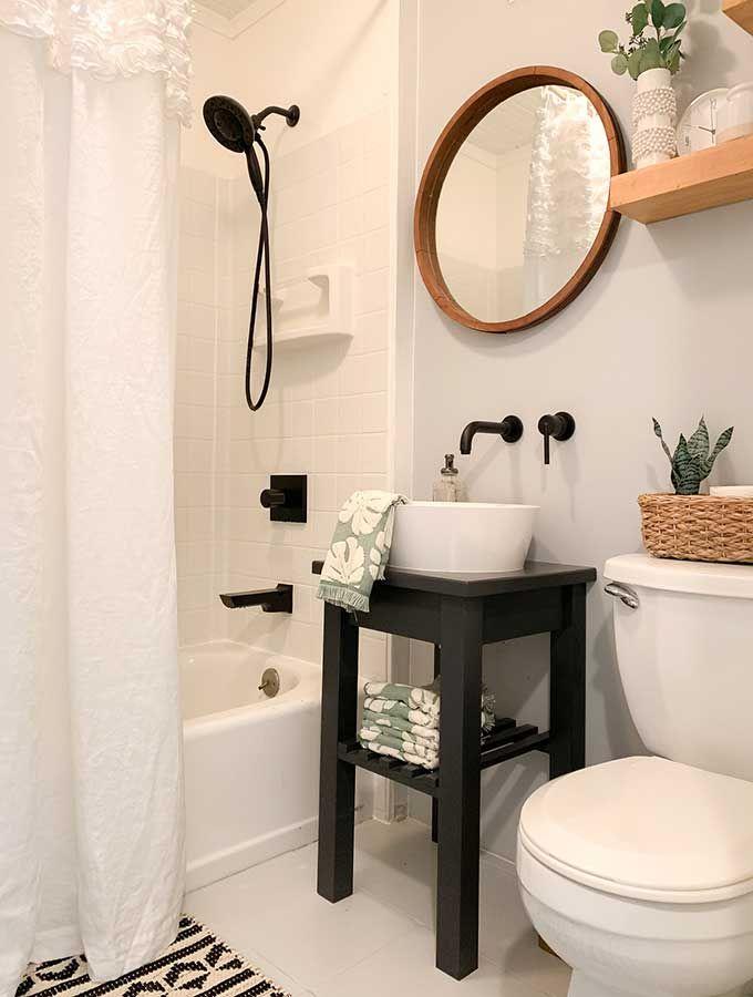 Small Bathroom Makeover Ideas Hallstrom Home Sinks Powder Room Paint