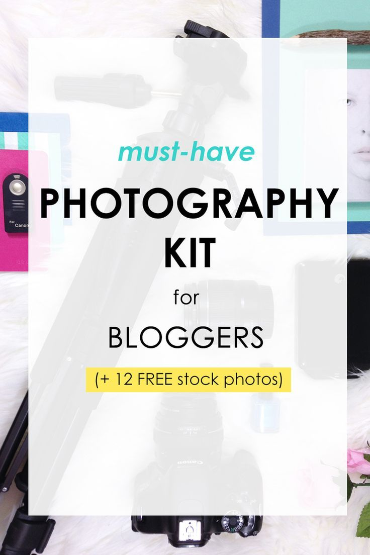 How to build your very own photography kit with some peaks at my creative process.