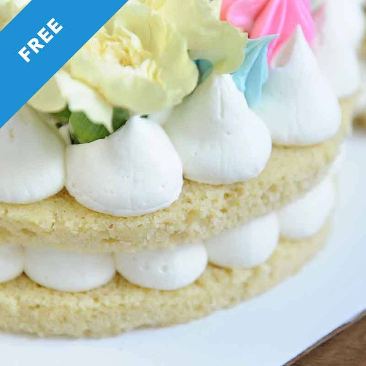 How to turn that trendy cream tart into a cake! This recipe won't dry out, crumble and is perfect for carving into letters or numbers!