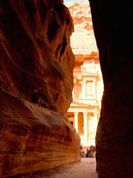 faille tresor petra jordanie