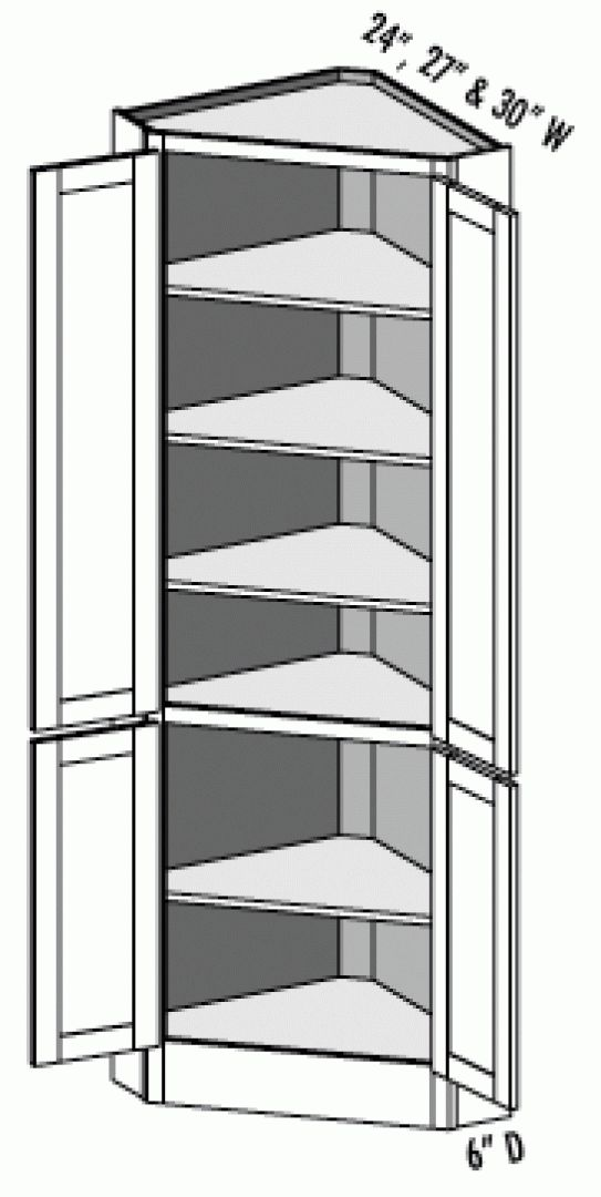 Pantry Corner Cabinet with TALL CORNER CUPBOARD KITCHEN ...