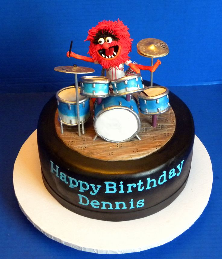 Best 20 Drum Birthday Cakes Ideas On Pinterest Drum