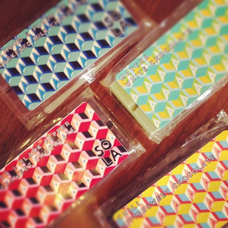 SOLA chocolates at Venokado!