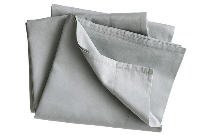 Smokey Green Fitted Sheet from ELSON