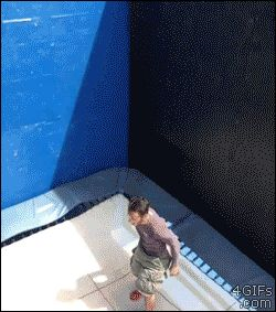I thought this was a cool trampoline trick that would look really awesome in a gif however I think it would be too hard to do on the macs.