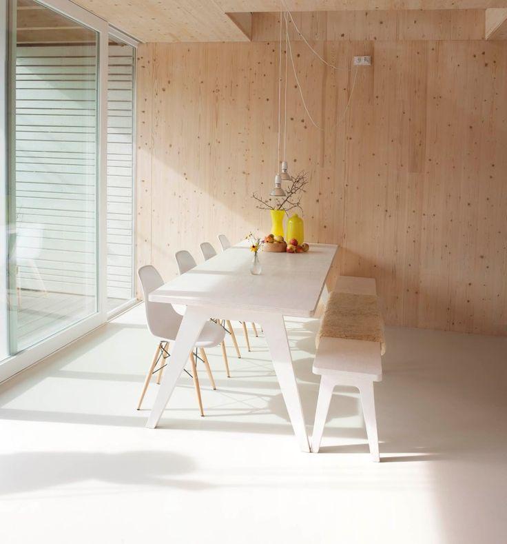 Die besten 25+ Holzbank massiv Ideen auf Pinterest Bauernhaus - massive holzbank selber bauen