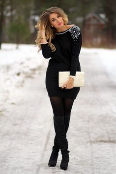 45 Chic Christmas Party Outfit Ideas 2016