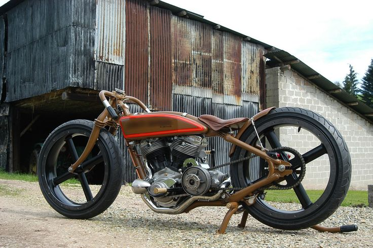 Krugger Motorcycle - Not my style, but nice work nonetheless