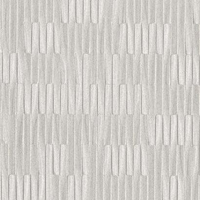Mirror Mirror Wallpaper in Silver by Ronald Redding for York Wallcoverings