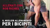 BICEPS WORKOUT/ALLENAMENTO BICIPITI - YouTube