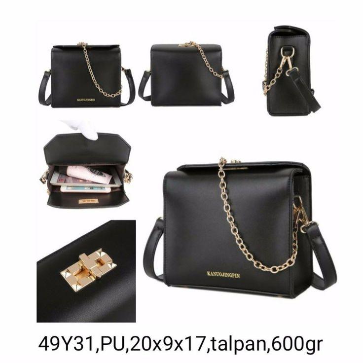 49Y31 Black 140rbPU20x9x17talpan600gr  Hubungi kami di:  Line: girlia_id Telegram: @girliaid CS1 : D0D1B201 / WA: 081347103932 CS2 : D21B1E5B / WA: 08125658895 IG testi: @testigirlia  Girlia Fashionstore your chic #dailygears  #beautiful #fashion #instafashion #purse #shopping #stylish #girliaproject #girliafashionstore #tasimportmurah #tas #tasfashion #grosirtasmurah #tasbatammurah #taskorea #tasbranded #tasmurmer