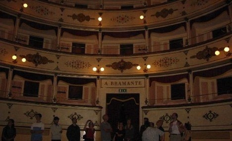 Teatro Bramante Urbania Italy
