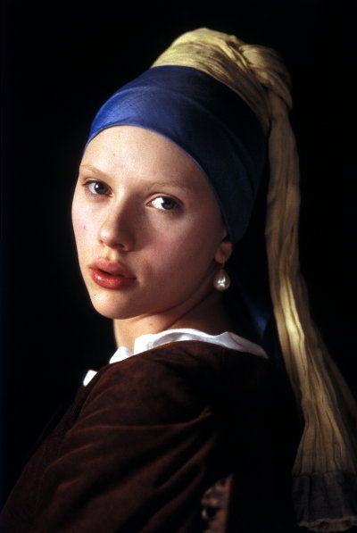 The Girl with the Pearl Earring Scarlett Johannson was great in the movie watched it last night..