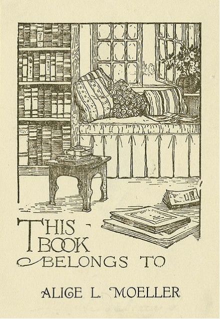 792 best bookplates to die for images on pinterest ex - Ex libris personalizados ...