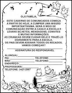 Capas Para Cadernos Educação Infantil Ed Infantil Atividades