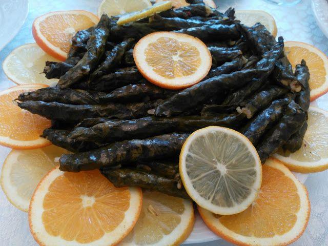 Akissmutfak: Zeytinyağlı Kekikli Pazı sarması
