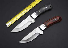 K91 Tactical Fixed Knife 5Cr13Mov Blade Wood Handle Small Hunting Knife Camping Survival Knife(China (Mainland))