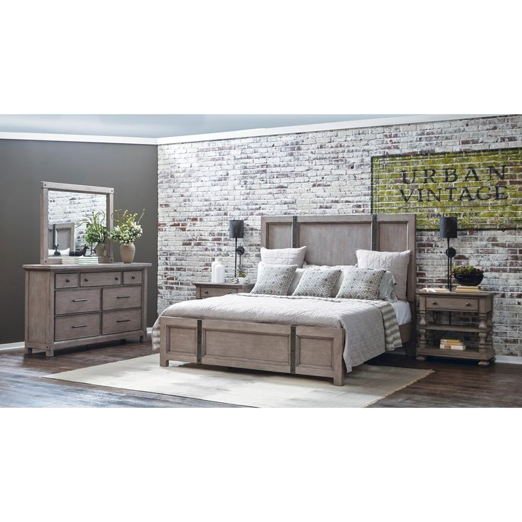 Prospect Heights Queen Bedroom Group By Samuel Lawrence At Royal Furniture