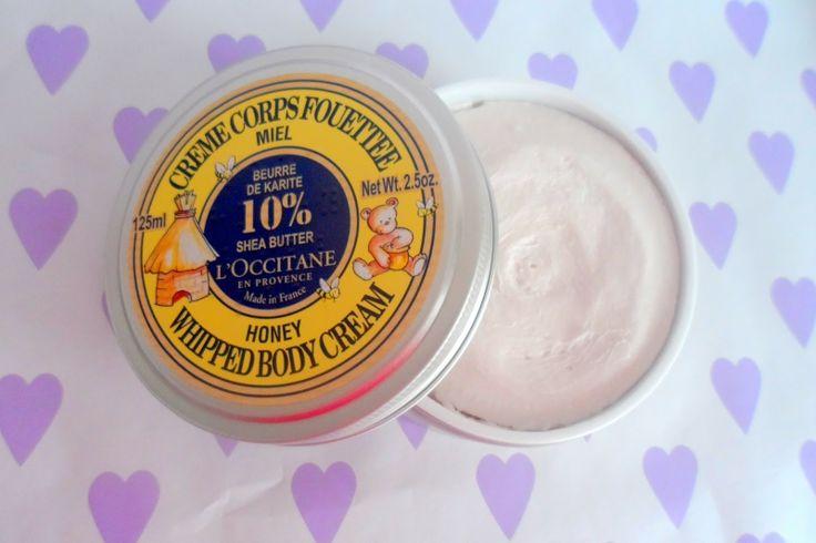 L'Occitane Shea butter honey whipped body cream