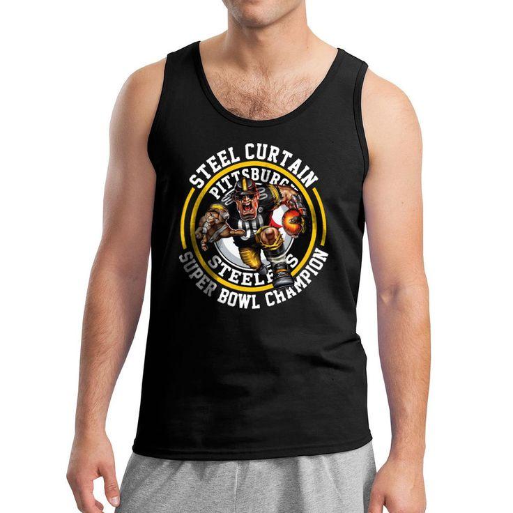 Save 10% #pittsburghsteelers  Steelers #SuperBowl Champion, #SteelCurtain NFL Black Long Sleeves