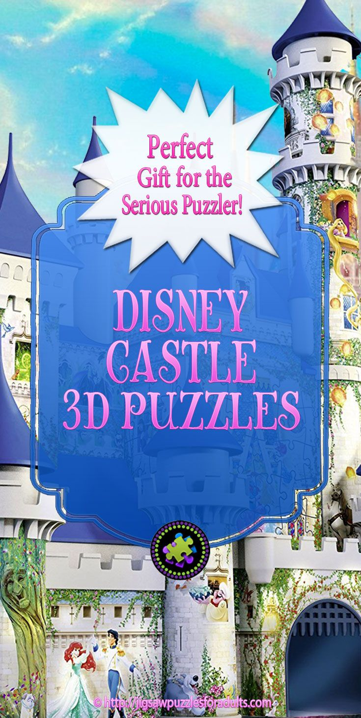 Looking for a totally unique puzzling experience then working on a Disney Castle 3D puzzle is perfect! You'll simply LOVE these 3D jigsaw puzzles of the Disney Princess Castles!