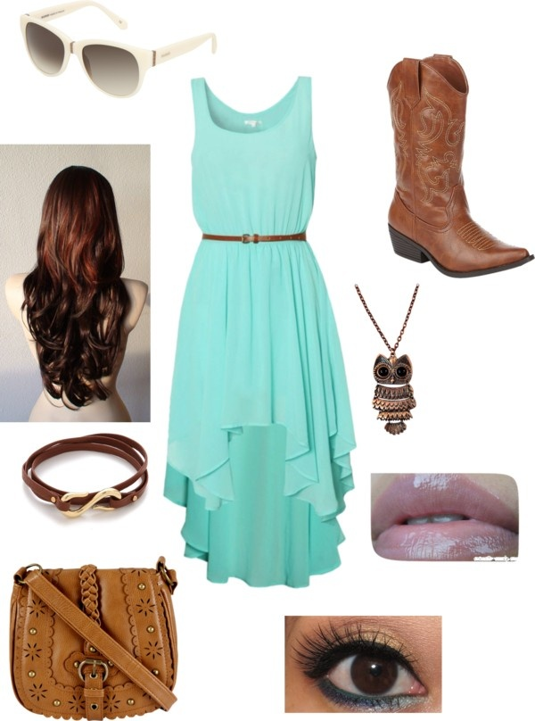 """""""country girl look :)"""" by supermaann ❤ liked on Polyvore"""