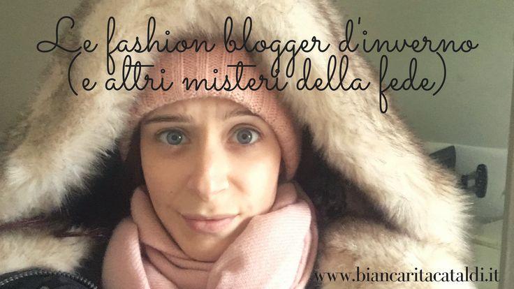 Le fashion blogger d'inverno sono per me motivo di continua meraviglia. Come fanno a sembrare carine nei loro cappottini leggerissimi aperti sul petto?