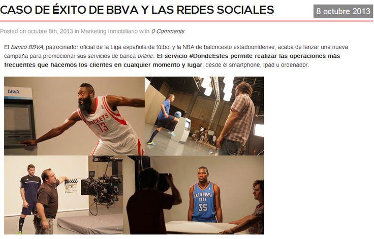 Caso de éxito en las redes sociales del BBVA por Carlos Rentalo